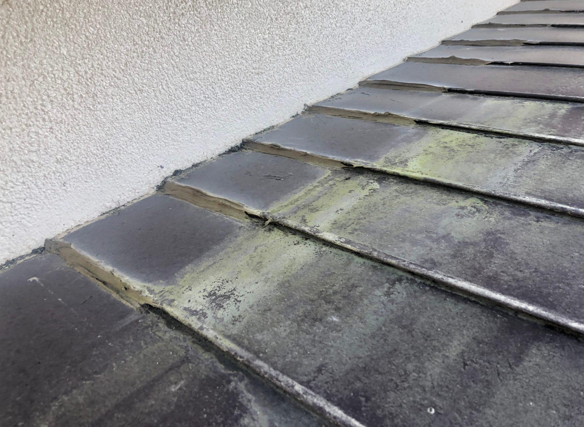 仙台市太白区で屋根の雨漏れ補修工事を行いました。