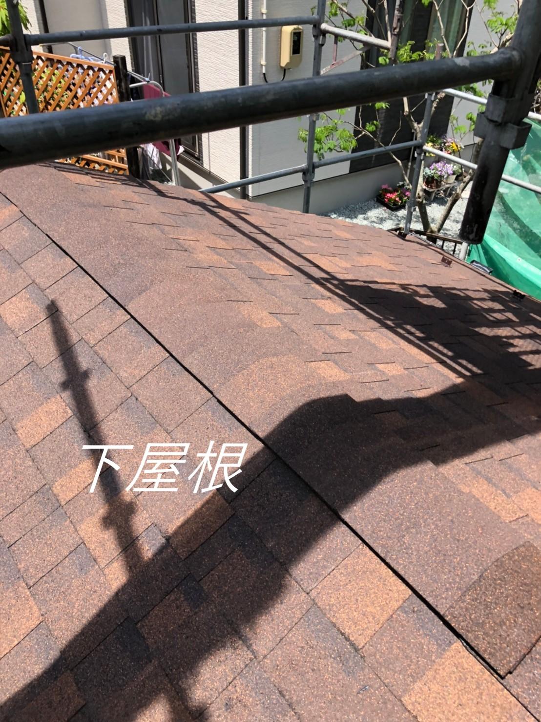 シングル下屋根棟