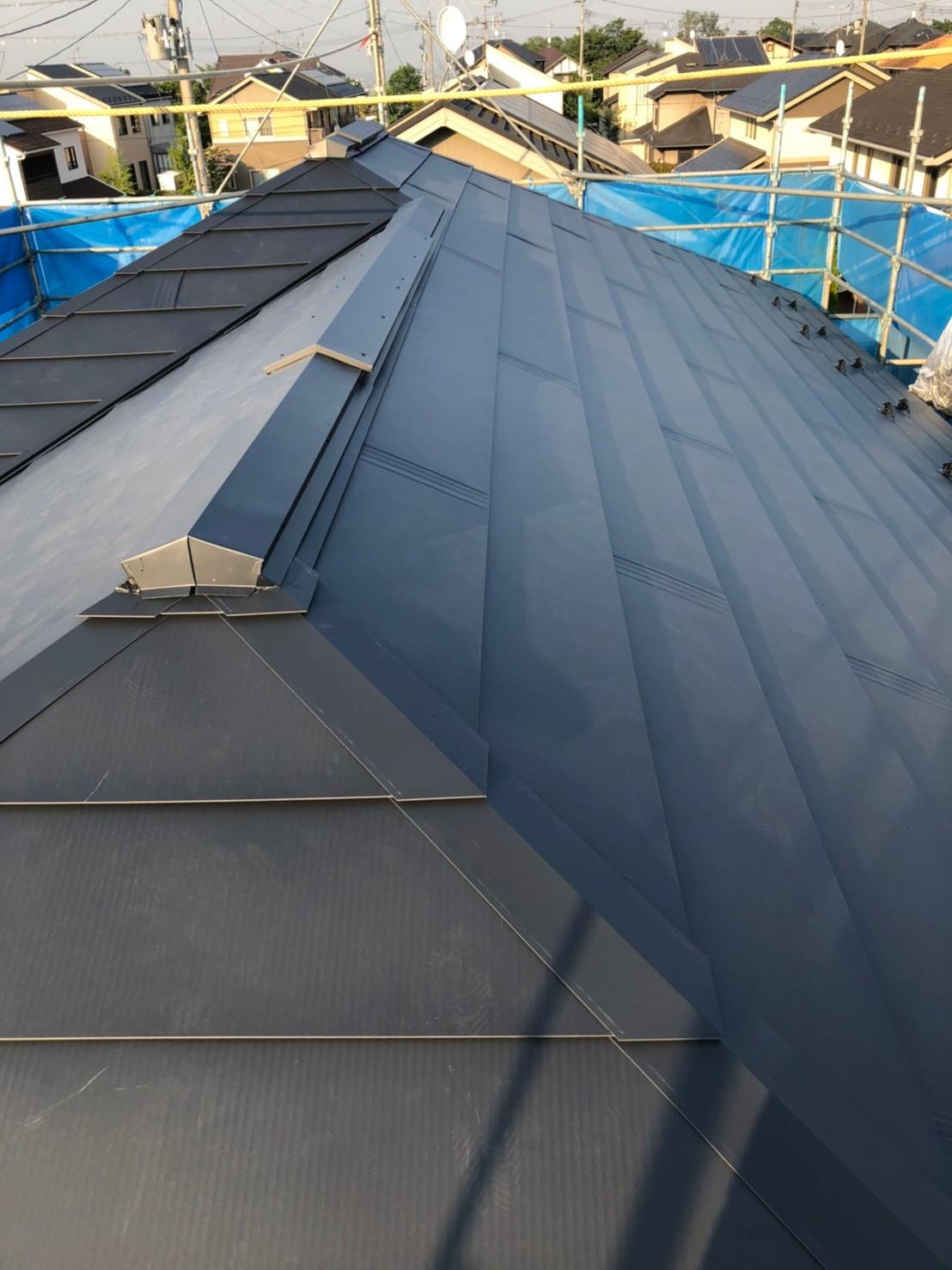 スマートメタル屋根