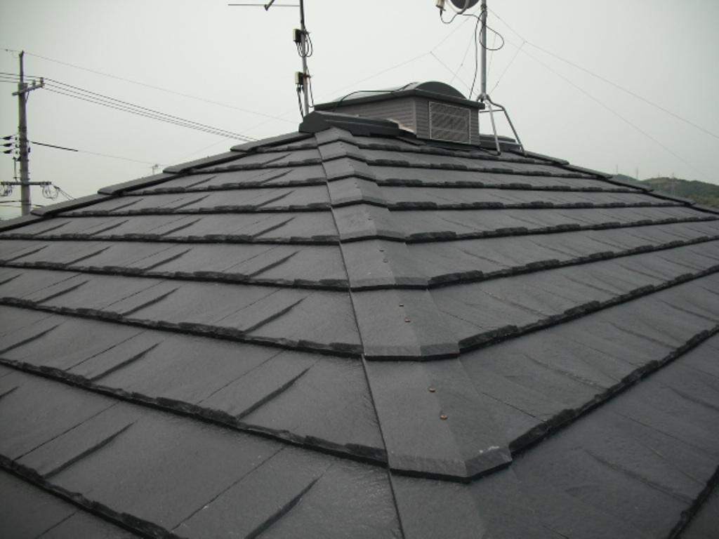 H様屋根葺き替え工事施工後