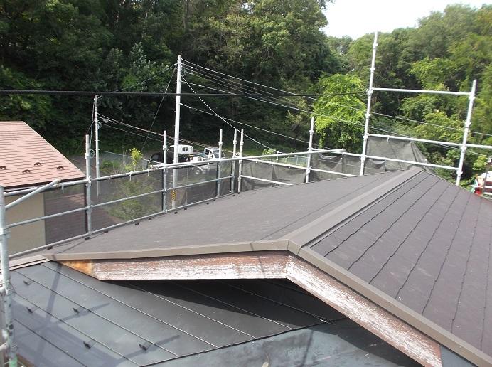コロニアル屋根写真