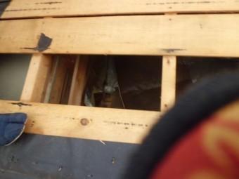 屋根下地の写真