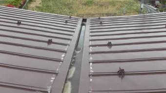 バタフライ屋根写真