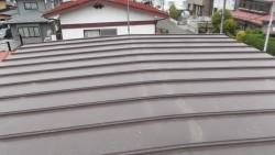 2階の屋根の写真