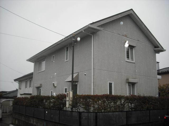 仙台市太白区で雨樋の歪みの様子を見に行ってきました