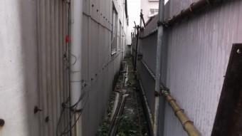狭い壁の写真