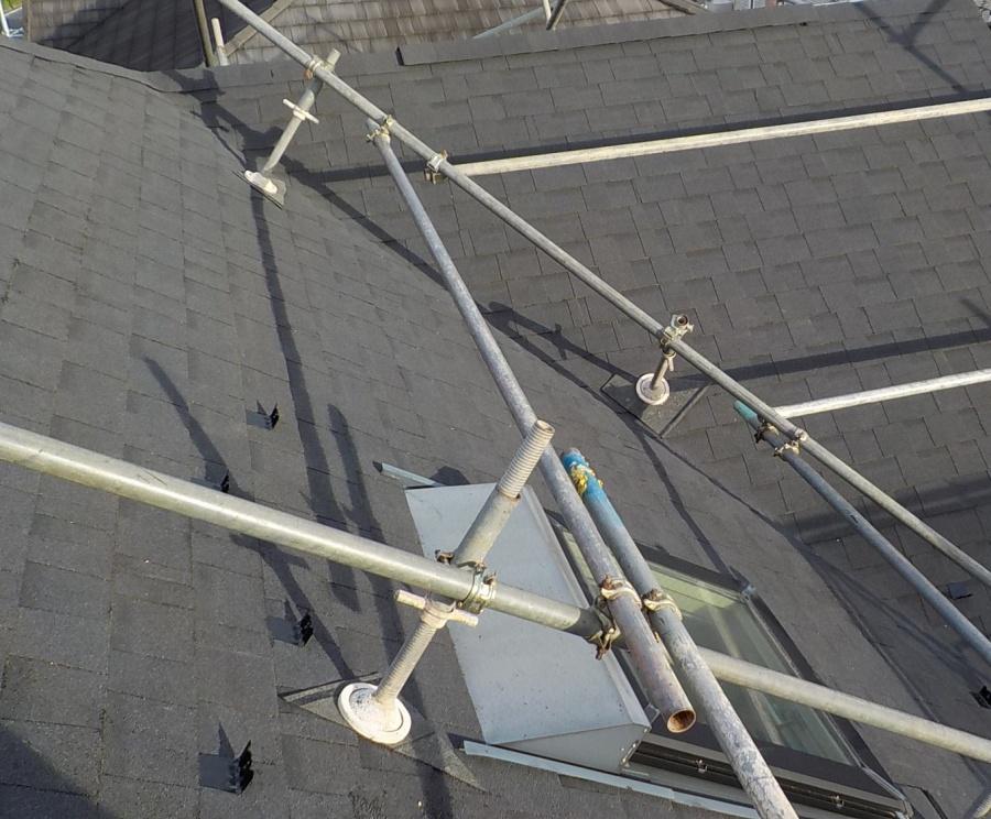 シングル屋根写真