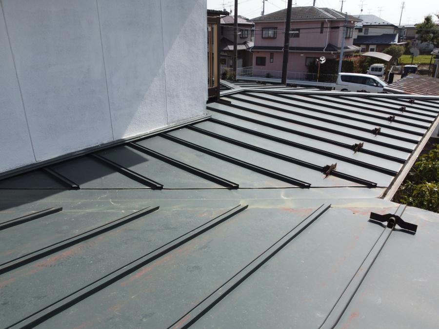 仙台市太白区で瓦棒屋根の一部葺き替え工事 雨漏りを直します
