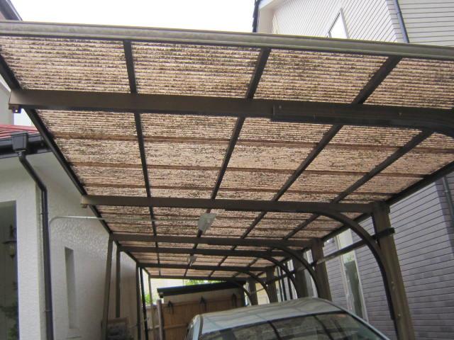 浪板屋根の写真