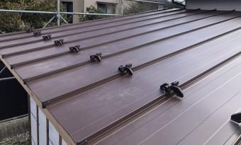 板金屋根の写真