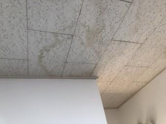 室内の雨染み