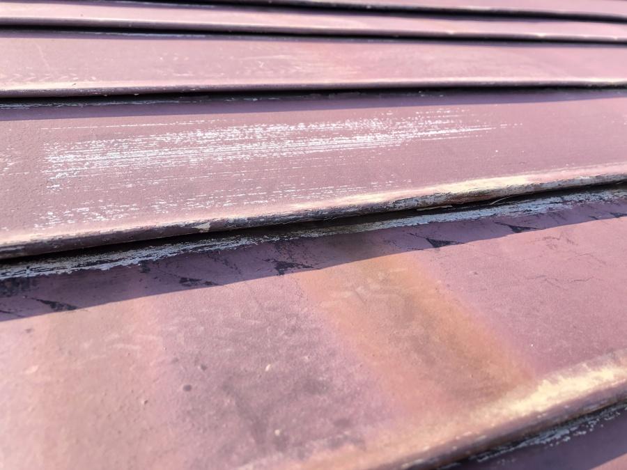 錆びた板金屋根