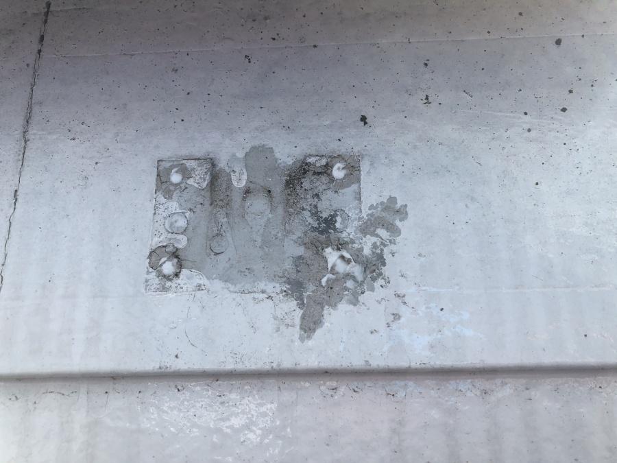 ビス穴の補修