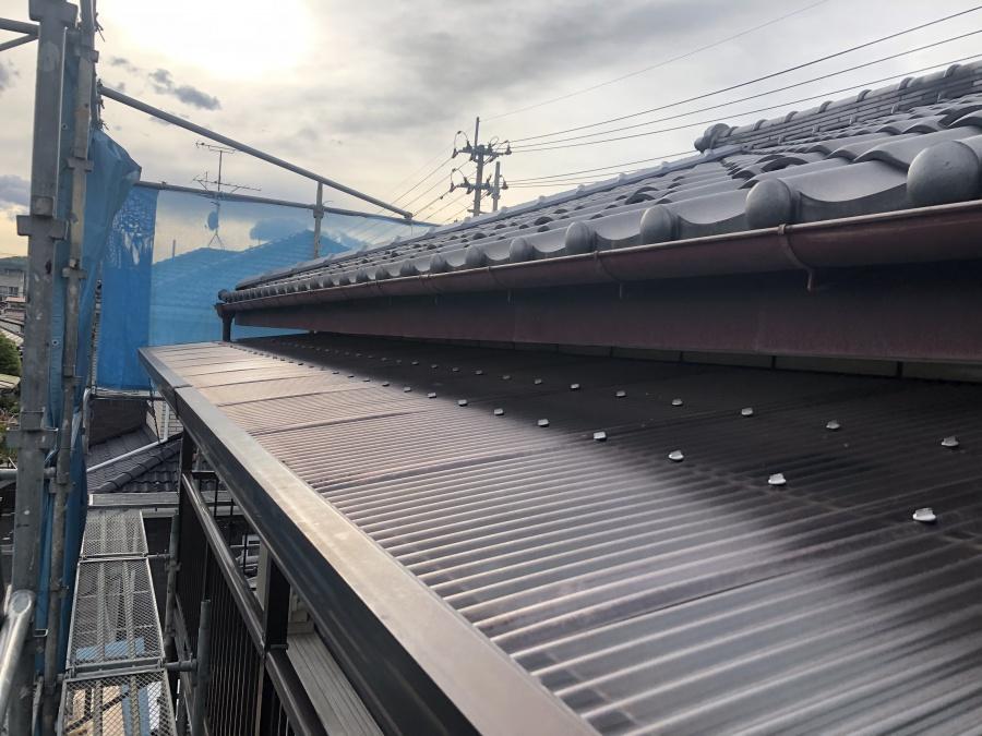 仙台市若林区での雨樋架け替え工事 現況をご紹介します