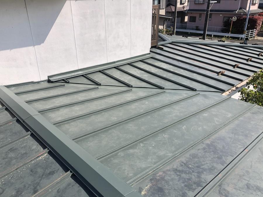 交換した綺麗な屋根