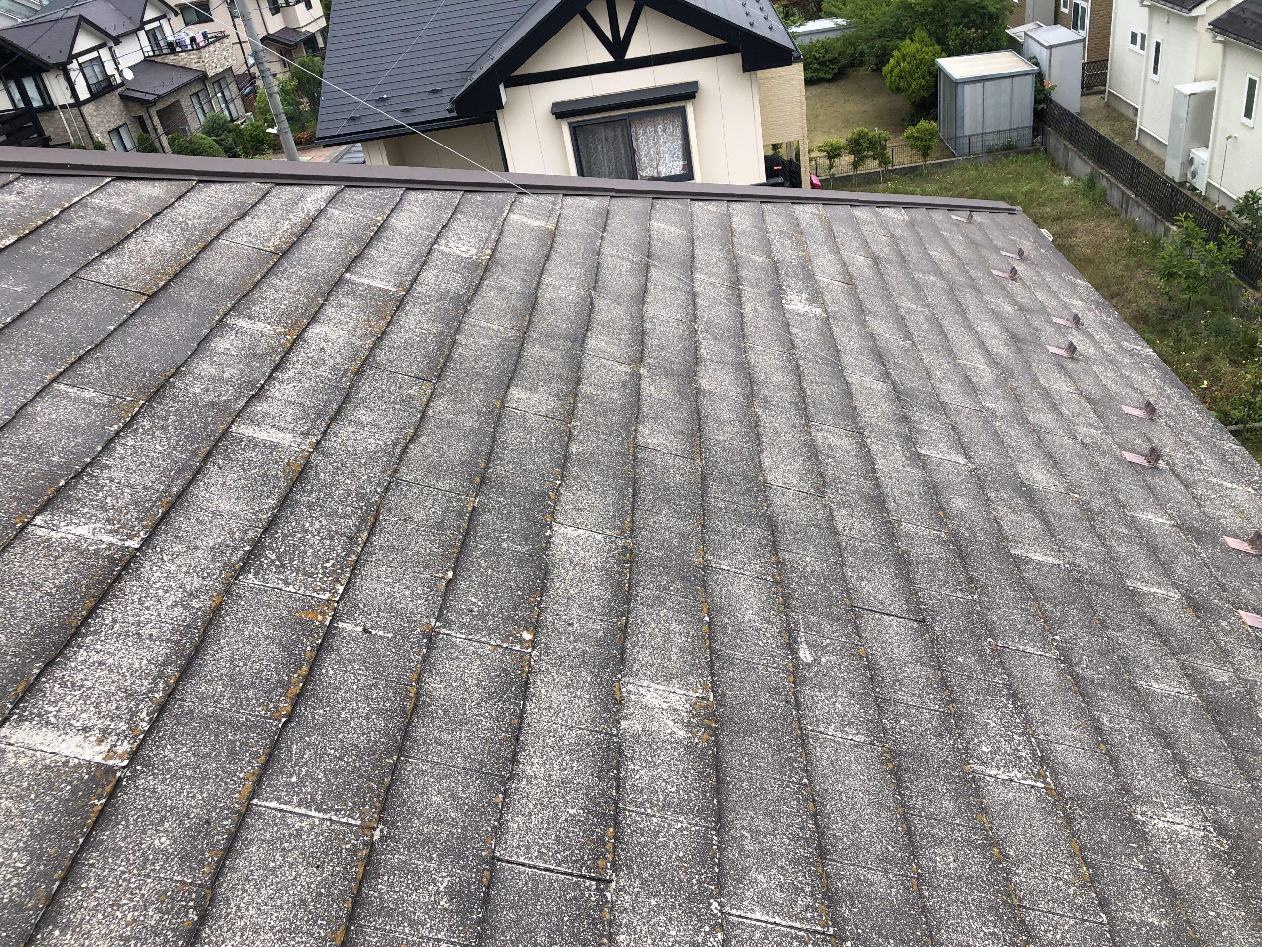 角田市でのスレート屋根調査 無料診断で調査・ご提案まで行います