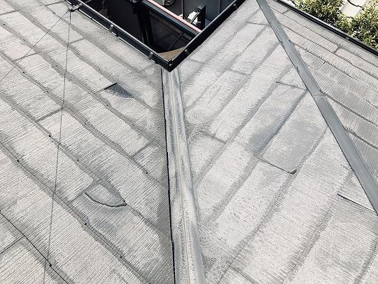 屋根材割れ