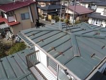 二階屋根写真