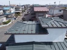 ドローン撮影屋根の写真