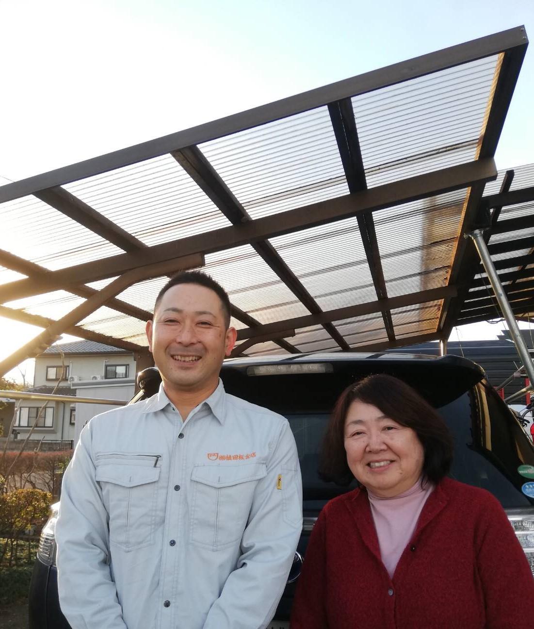 仙台市太白区で屋根カバー工法を行ったE様の声