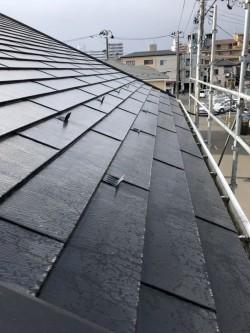 ウッドピース屋根の写真
