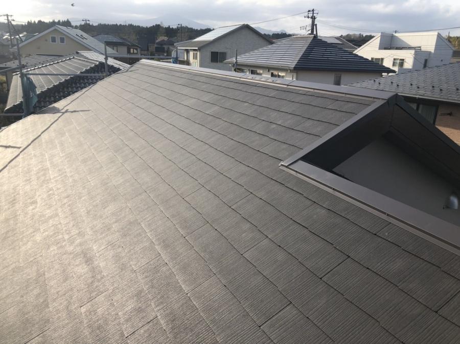 綺麗なスレート屋根