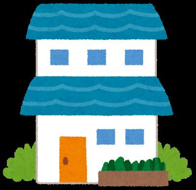 2階建の家